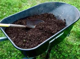 compost wheelbarrow